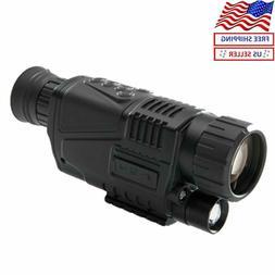 5x40 Infrared IR Digital Night Vision Hunting Monocular Tele