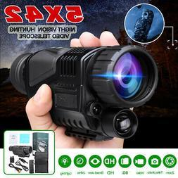 5x40 Infrared IR Night Vision Hunting Monocular Telescope Di