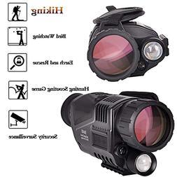 SOLOMARK 5x40 Night Vision Monocular-Infrared IR Camera with