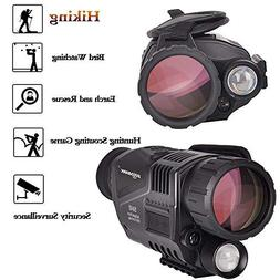 SOLOMARK 5x40 Night Vision Monocular-Infrared IR Camera with