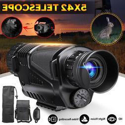 5X42 Zoom Night Vision Infrared Telescope Camera Video Monoc