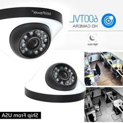 600TVL Indoor Outdoor Bullet Home CCTV Security Camera 50ft