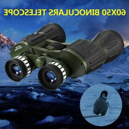 60X50 Zoom Binoculars Day Vision Travel Outdoor HD Hunting T