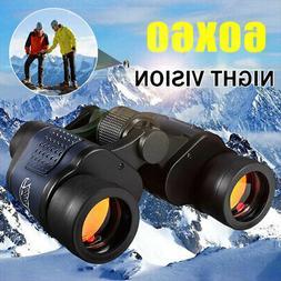 60X60 Zoom Binoculars Day/Night Vision Travel Outdoor HD Hun