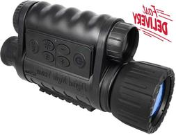 Bestguarder 6X50Mm Hd Digital Night Vision Monocular With 1.