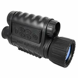 Bestguarder 6x50mm HD Digital Night Vision Monocular with 1.