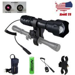 7W 850nm IR LED Flashlight Infrared Night Vision Zoom Torch