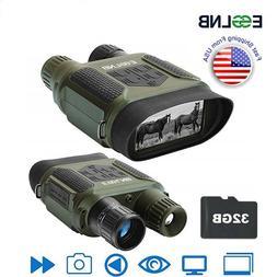 7X31 Binocular Night Vision IR Digital Camera Video with 32G