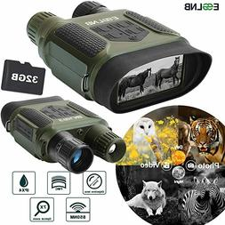 7X31 Night Vision Goggles Binoculars 400m/1300ft for Darknes