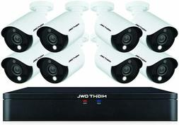 Night Owl 8-Channel Wired 1TB 1080p Security Camera System -
