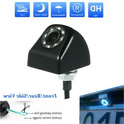 8 LED Night Vision Car Rear View Reverse Backup Parking Came