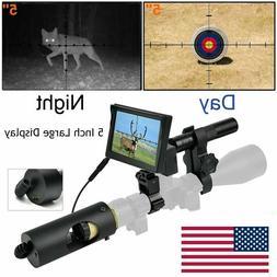 850nm Infrared LED IR  Night Vision Riflescope Hunting Scope