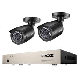 8CH 1080N Security Camera System 720P Outdoor Bullet Camera