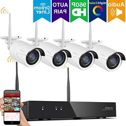 xmartO 8CH 960p HD Expandable Wireless Security Camera Syst