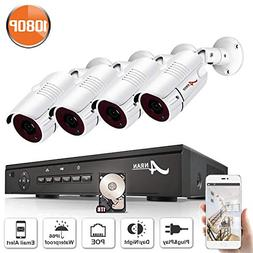 Security Camera System, ANRAN 8Channel 1080P Video Surveilla
