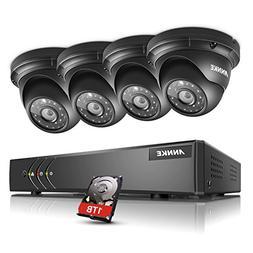 ANNKE 8CH Surveillance System 1080N 5-in-1 DVR Recorder with
