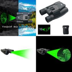 Cassini 8X Green Laser Day/Night Binocular With Case