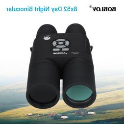 8x52 Optical Infrared Night Vision Digital Binocular Spottin