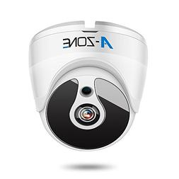 A-ZONE 1080P HD-TVI Dome Security Camera IR Night Vision 2MP