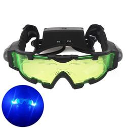 AGM Adjustable Night Vision 25 Feet Goggles with Flip Out Li