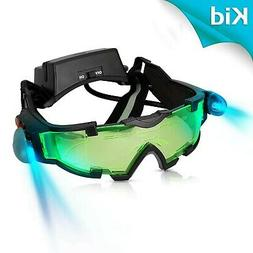 AGM Adjustable Night Vision 25 Feet Goggles with Flip-out Li