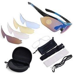 ATA  Trap & Skeet Shooting Glasses - 5 LENSES including nigh