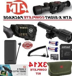 ATN X Sight II 2 HD IR Night Vision 3-14 Rifle Scope Predato