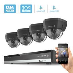 Amcrest 4CH NV2104E-IP2M-851EB4 6MP NVR 2MP 1080P Security C