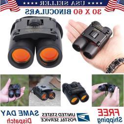 30 x 60 Zoom Day Night Vision Outdoor Travel Binoculars Hunt