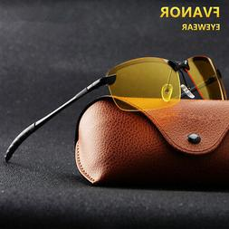 Day and Night Vision Driving Glasses HD Polarized Sunglasses