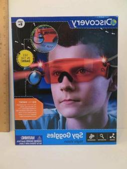 Discovery Spy Goggles Night Vision See in the Dark! Soft Nos