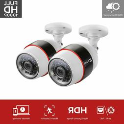 Ezviz - Outdoor 1080p Wi-fi Network Surveillance Camera - Bl
