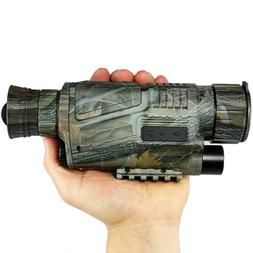 Infrared Dark Night Vision IR Monocular Binoculars Telescope