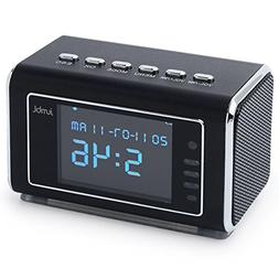 Jumbl Mini Hidden Spy Camera Radio Clock wih Motion Detectio