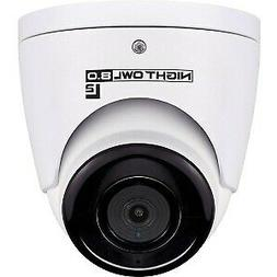 Night Owl Security Add-on Wired 4K UHD IP Dome Camera with A
