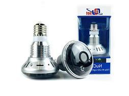 Nucam 720p Light Bulb IP HD Wifi IR Night Vision Camera Clas