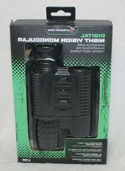 Stealth Cam Digital Night Vision Monocular with 9X Zoom, Bri