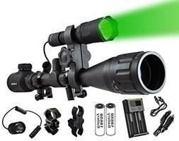 Ultimate Long Range Rechargeable Hog Hunting Light Bundle: O
