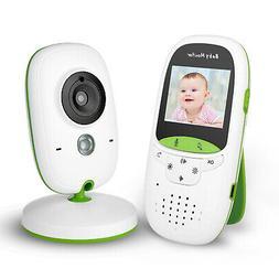 Video Baby Monitor Camera Infrared Night Vision Temperature