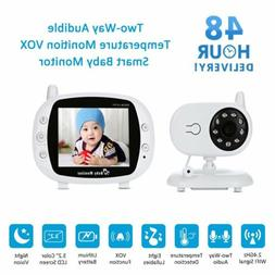 Video Baby Monitor Summer Infant Surveillance Wireless W/ Ni