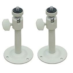VideoSecu 2 Pack 2-6 inch Adjustable Security Camera Metal B