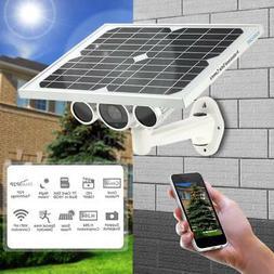Wanscam HD 1080P WiFi Solar & Battery Power Bullet IP Camera