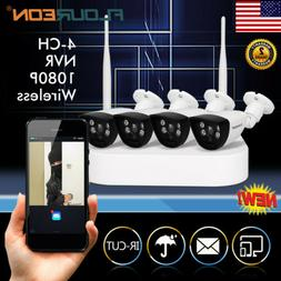 Wireless 1080P HD Pan/Tilt Baby Monitor IR-CUT Night Vision