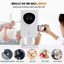 Wireless Wifi 720P Pet Baby Monitor Two Way Audio Night Visi