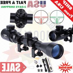 Air Rifle Scope Night Vision Airsoft Sniper Pellet Gun BB Bl