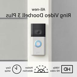 Ring Video Doorbell 3 Plus – Enhanced Wifi, Improved Motio