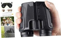 APEMAN 12x25 Compact Binoculars for Adults and Kids with Cle