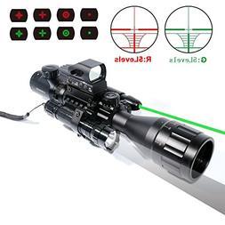 AR15 Rifle Scope 4-16x50EG Rifle Scope Parallax Adjustable C