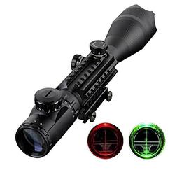 Aukmont Telescopic Sight 4-16x50EG Green/Red Hunting Rifle S