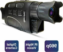 """Rexing B1 Basic Night Vision Goggles/Monoculars w/1.5"""" LCD"""